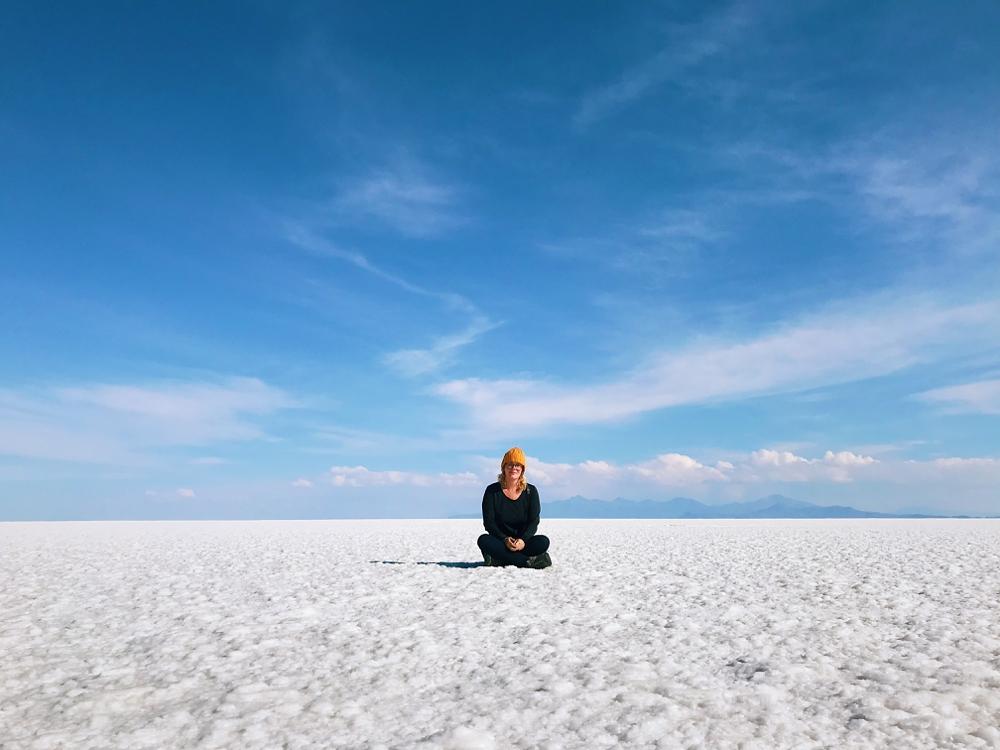 Salar de Uyuni, Salt Flats Bolivia approx 12,000 ft (3,650 m)